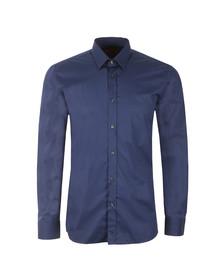 Hugo Mens Blue Elisha Slim Shirt