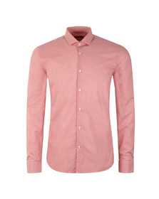 Hugo Mens Red Erondo Patterned Extra Slim Shirt