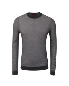 Hugo Mens Blue Sarmon Crew Jumper