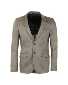 Scotch & Soda Mens Grey Chic Jersey Blazer