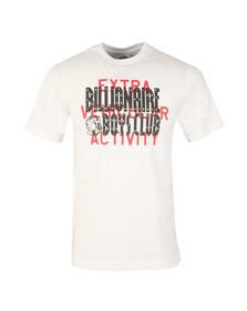 Billionaire Boys Club Mens White Shuttle Launch T Shirt