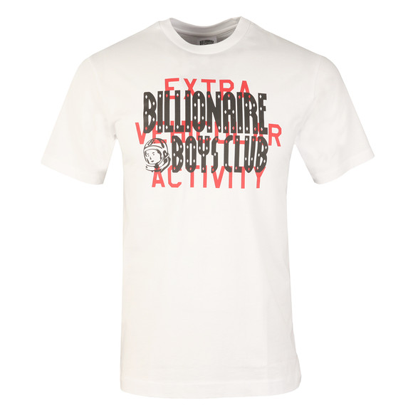 Billionaire Boys Club Mens White Shuttle Launch T Shirt main image