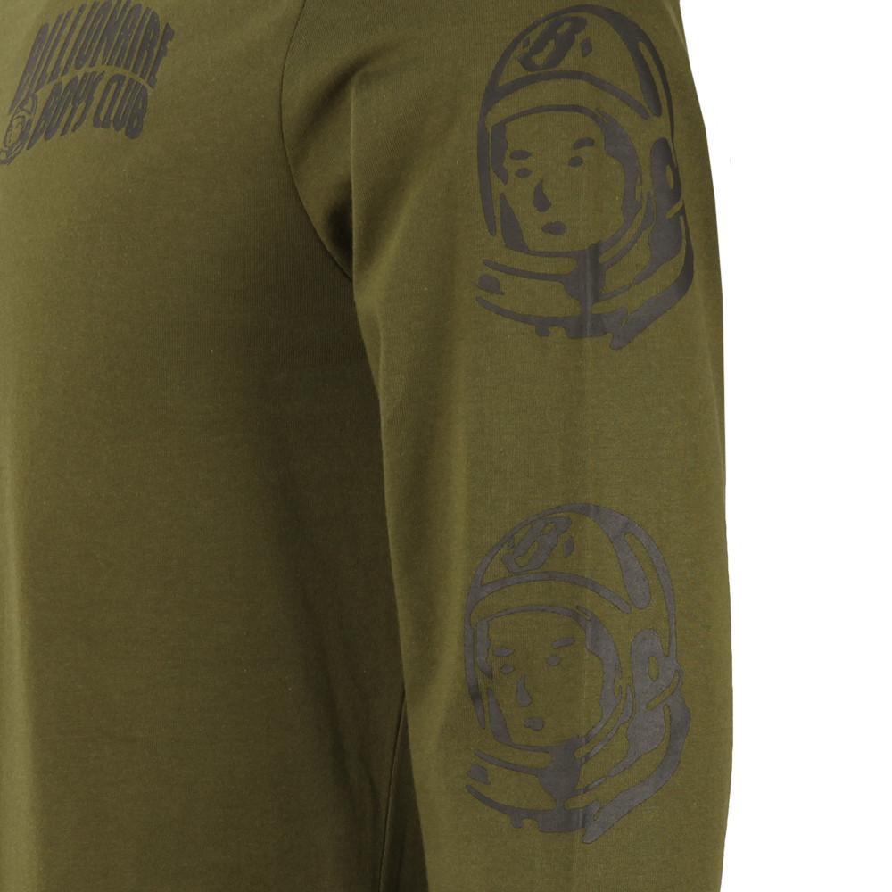 Helmet Print Long Sleeve T Shirt main image