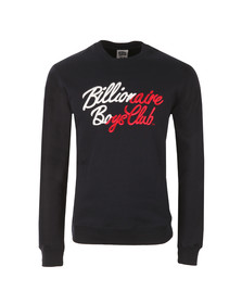 Billionaire Boys Club Mens Blue Script Embroidered Sweatshirt