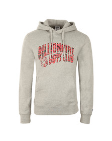 Billionaire Boys Club Mens Grey Zebra Camo Arch Logo Pop Over Hoody