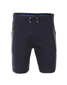 Superdry Mens Blue Gym Tech Slim Short