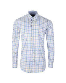 Paul & Shark Mens Blue Multi Check Shirt