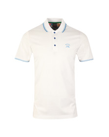 Paul & Shark Mens White Tipped Polo Shirt