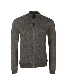 Pretty Green Mens Black Ranford Sweat Zip