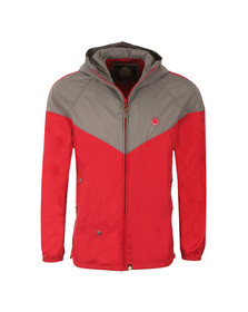 Pretty Green Mens Red Reedbank Jacket