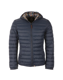 Pretty Green Mens Blue Pembrook Quilted Jacket