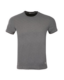 CP Company Mens Blue Slim Fit S/S T-Shirt