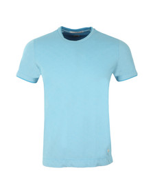 CP Company Mens Blue Slim Fit S/S T-Shirt