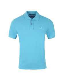 CP Company Mens Blue Regular Fit Plain Polo
