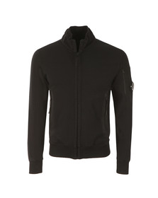 CP Company Mens Blue Full Zip Sweat