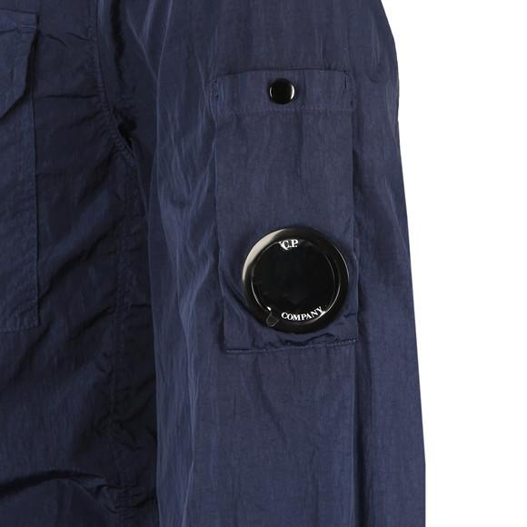CP Company Mens Blue Nylon Overshirt main image