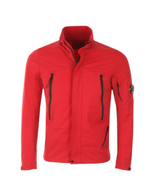 CP Company Mens Red Lightweight Pro-tek Jacket