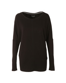 Barbour International Womens Black Arlen Sweat