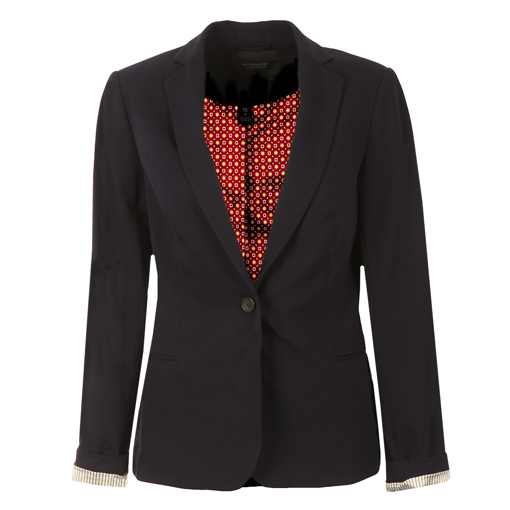 Basic Tailored Blazer main image