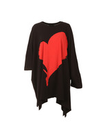 Elephant Hole Heart Top