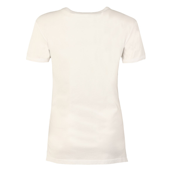 Vivienne Westwood Anglomania Womens White Embroidered Orb T Shirt main image