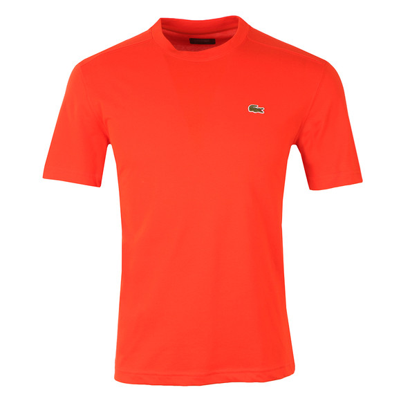 Lacoste Sport Mens Red TH7618 Plain T-Shirt main image