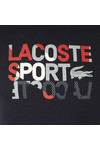 Lacoste Sport Mens Blue TH2088 S/S Tee