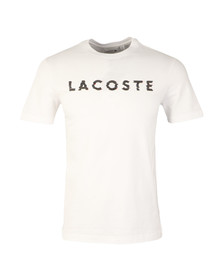 Lacoste Mens White TH1895 S/S Tee