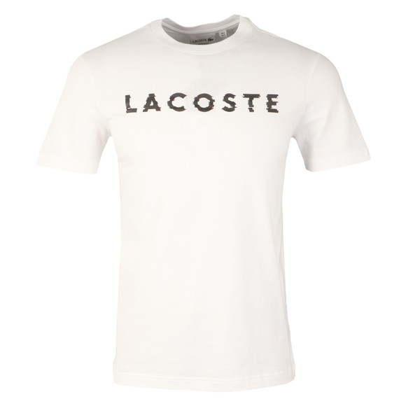 Lacoste Mens White TH1895 S/S Tee main image