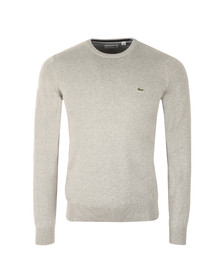 Lacoste Mens Grey AH4888 Crew Neck Jumper