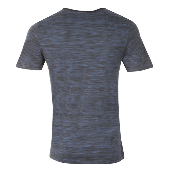 Pretty Green Mens Blue Rosebank T Shirt main image