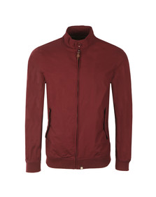 Pretty Green Mens Red Dalton Harrington Jacket