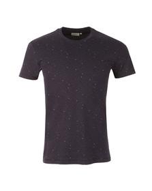 J.Lindeberg Mens Blue Sev C Wave Jersey T Shirt