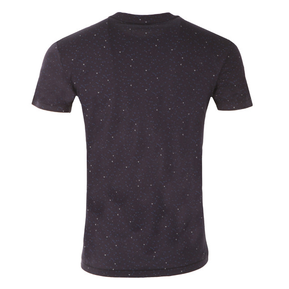 J.Lindeberg Mens Blue Sev C Wave Jersey T Shirt main image