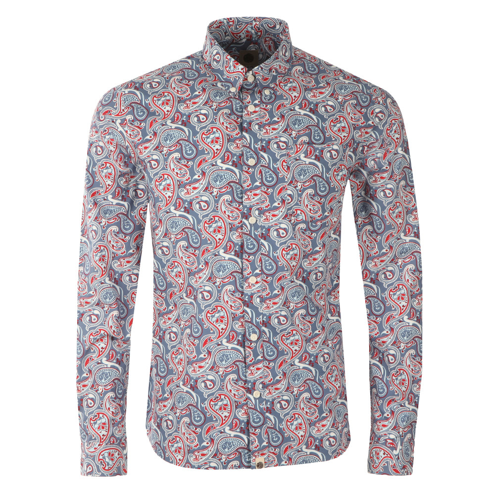 Camley Paisley Shirt main image