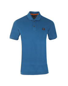 Paul & Shark Mens Blue Plain Polo Shirt