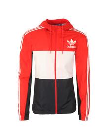 Adidas Originals Mens Red CLFN Windbreaker