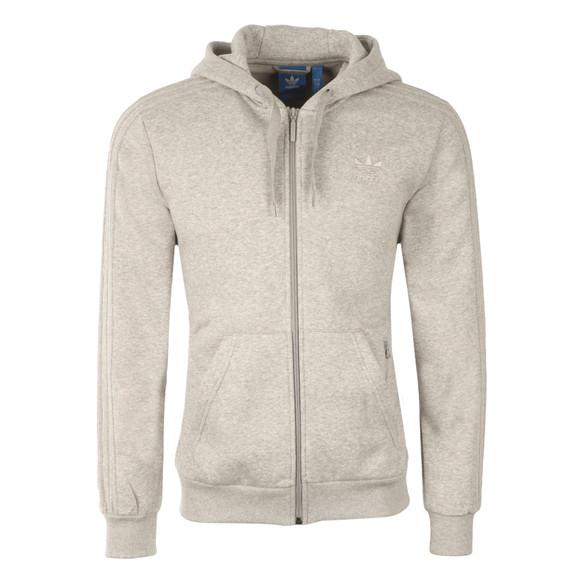 Adidas Originals Mens Grey BK5898 Full Zip Hooded Sweat main image