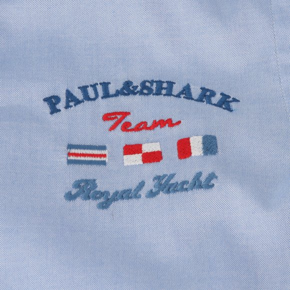 Paul & Shark Cadets Boys Blue Royal Yachting Shirt main image