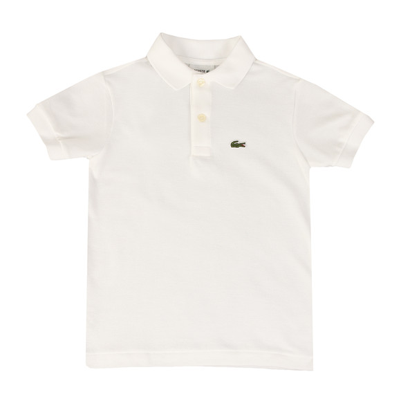 Lacoste Boys White PJ2909 Polo Shirt main image