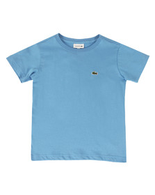 Lacoste Boys Blue TJ2616 Plain T Shirt