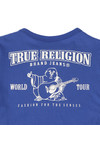 True Religion Boys Blue Branded Buddha Tee