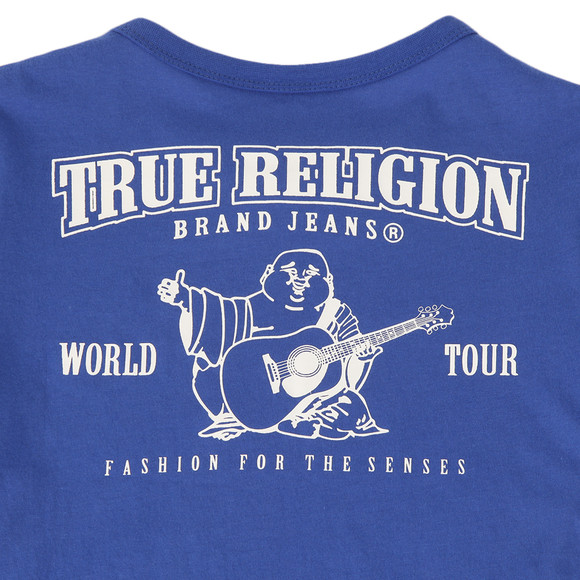 True Religion Boys Blue Branded Buddha Tee main image