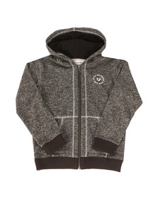 True Religion Boys Black Marled French Hoody