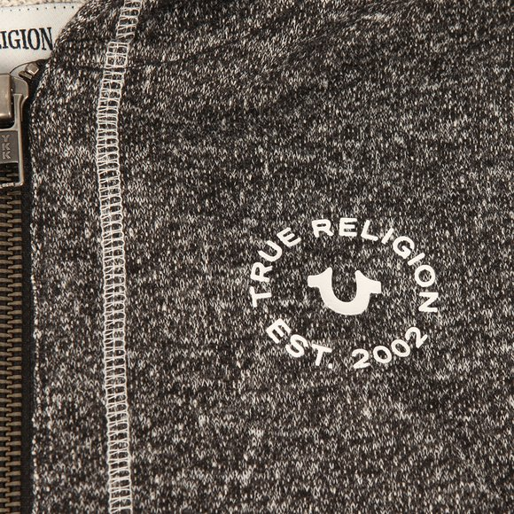 True Religion Boys Black Marled French Hoody main image