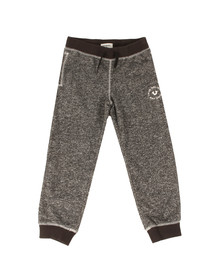 True Religion Boys Black Marled Sweatpants