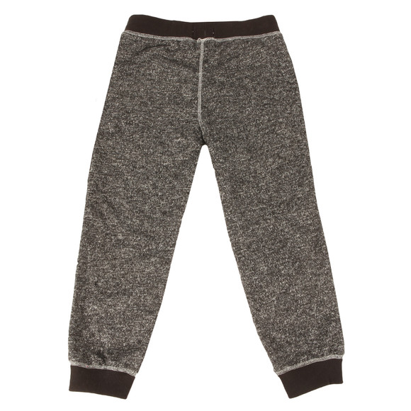 True Religion Boys Black Marled Sweatpants main image