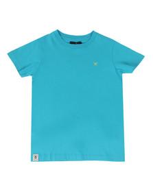 Hackett Boys Blue Boys Logo T Shirt