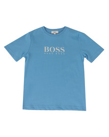 Boss Boys Blue Boys BOSS  Logo T Shirt