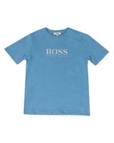 Boss Boys Blue Boys BOSS  Logo T Shirt